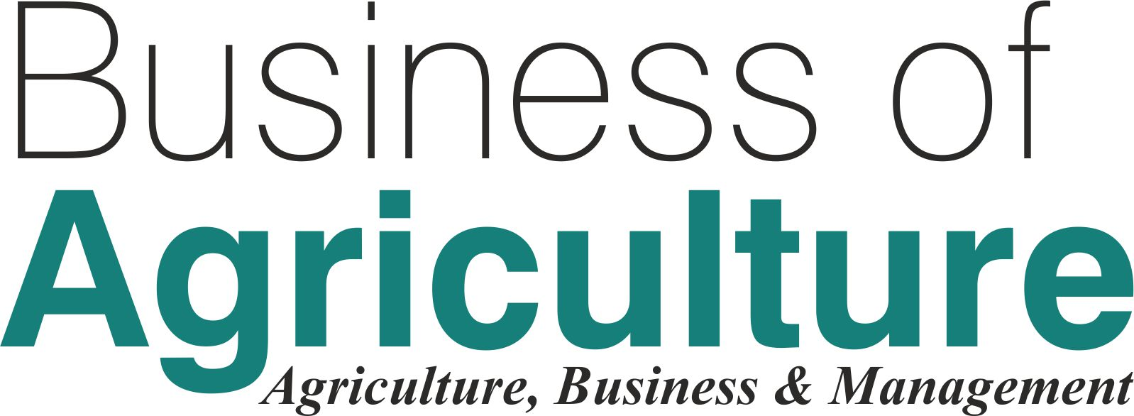 Business of Agriculture Magazine